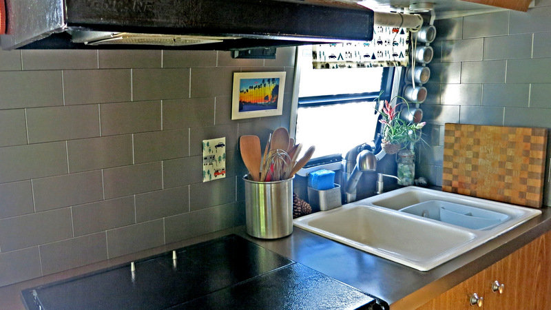 Airstream Update Kitchen Backsplash 183 Escapees Rv Club
