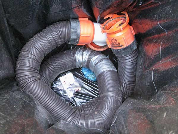 RV, sewer hose, garbage, cheap, upgrade