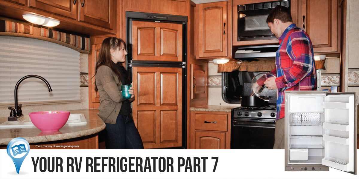 Your RV Refrigerator Part 7-Replacing Dometic or Norcold