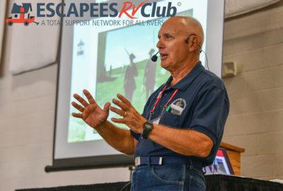 Escapade seminar presenter