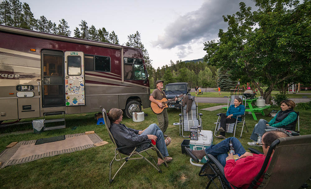 RV Happy Hour Outside