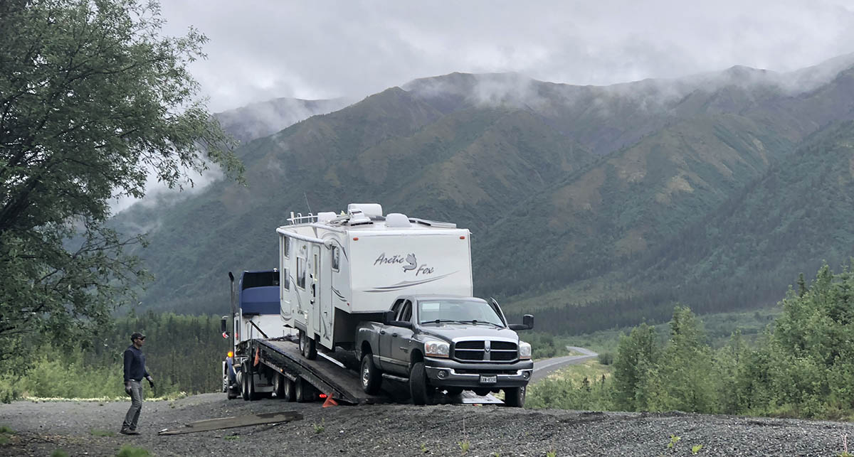 Roadside RV Emergency