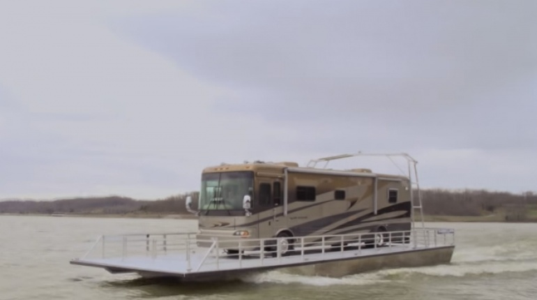 RV Boat - April Fools