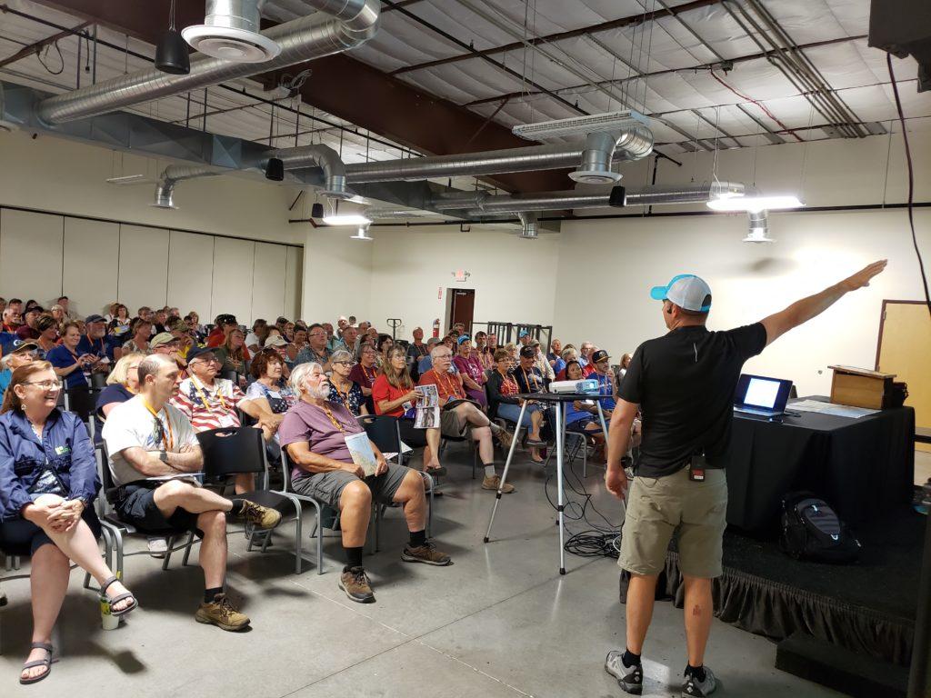 Brock Brinkerhoff leads seminar RVing in Alaska