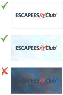 Escapees RV Club Name Logo Space Use