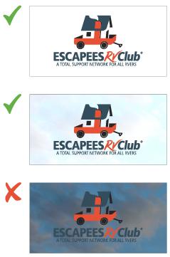 Escapees RV Club Big House Logo Use