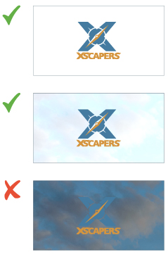 Xscapers Combined Logo Use
