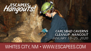 Carlsbad Caverns Cleanup Hangout Header