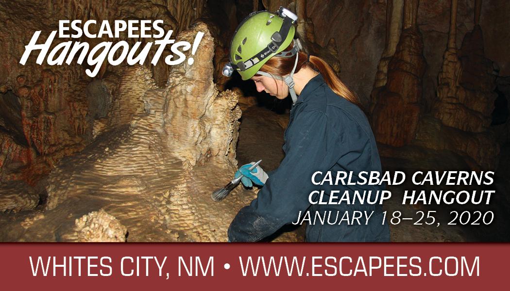 Carlsbad Caverns Cleanup Hangout Header