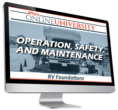 RV Foundations - Operation, Safety, and Maintenance