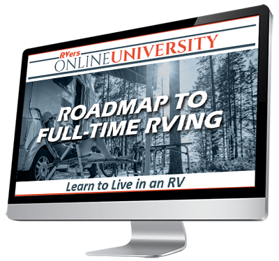 Learn to live in an RV - Roadmap to Full-Time RVing