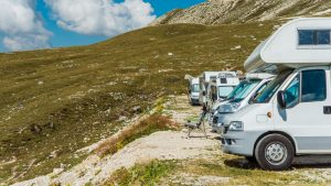 RV club for owners of same RV type camping together
