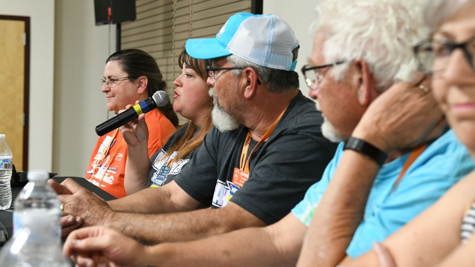 Members answer questions during an Escapade seminar on full-time RVing.