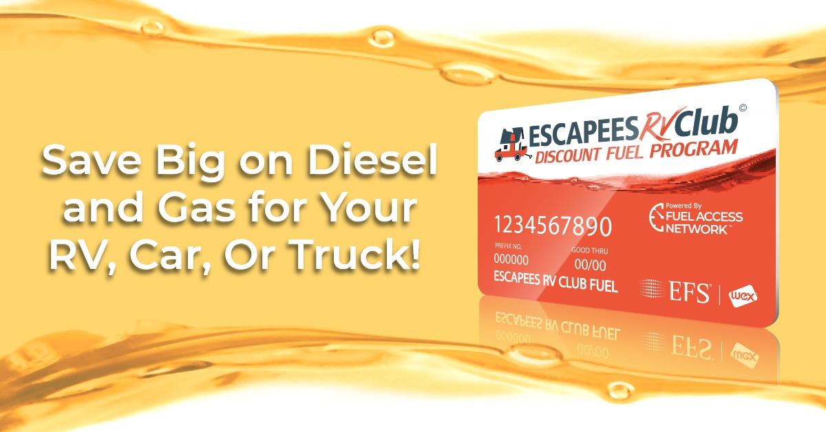 Escapees RV Club Discount Fuel Program